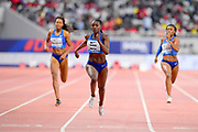 Dina Asher-Smith (GBR) wins the women's 200m in 22.26 during the IAAF Doha Diamond League 2019 at Khalifa International Stadium, Friday, May 3, 2019, in Doha, Qatar (Jiro Mochizuki/Image of Sport)