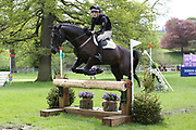 Harry Moran on Glynnwood High Jump during the International Horse Trials at Chatsworth, Bakewell, United Kingdom on 12 May 2018. Picture by George Franks.