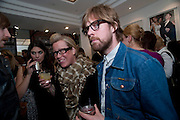 RICKY WILSON, Launch party of the new Belvedere Black Raspberry Maceration Vodka hosted by Estelle and Jonathan Kelsey, at the Belvedere Pop-Up Shop. Mount St. London. 6 May 2009