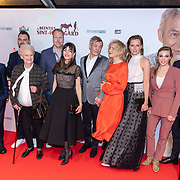 NLD/Amsterdam/20200210 -  inloop Premiere  De beentjes van Sint-Hildegard, cast Daphne , Deckers, Herman Finkers, Johanna ter Steege en Leonie ter Braak