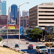 Main Street near Pershing Road in downtown Kansas City, Missouri - taken for Rhythm Engineering.