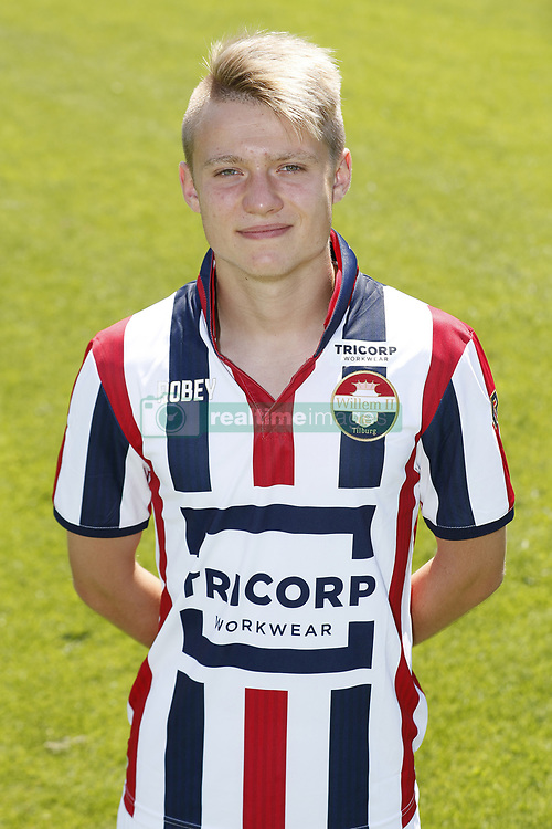 Bartek Urbanski during the team presentation of Willem II on July 17, 2017 at sportcomplex SC 't Zand in Tilburg, The Netherlands