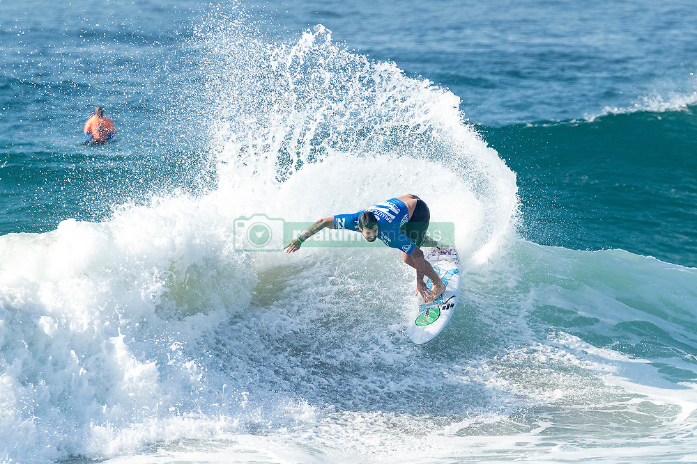 Jul 8, 2017 - KwaDukuza, South Africa - Willian Cardoso of Brazil advances to the Final of the Ballito Pro presented by Billabong after winning Semifinal Heat 2 against Mikey Wright of Australia at Willard Beach, Ballito, South Africa. (Credit Image: © Kelly Cestari via ZUMA Wire)