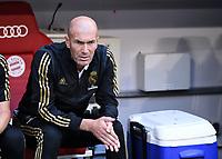 Fussball International Audi Cup 2019   Saison 2019/2020   30.07.2019 Halbfinale Real Madrid - Tottenham Hotspur Trainer Zinedine Zidane (Real Madrid)