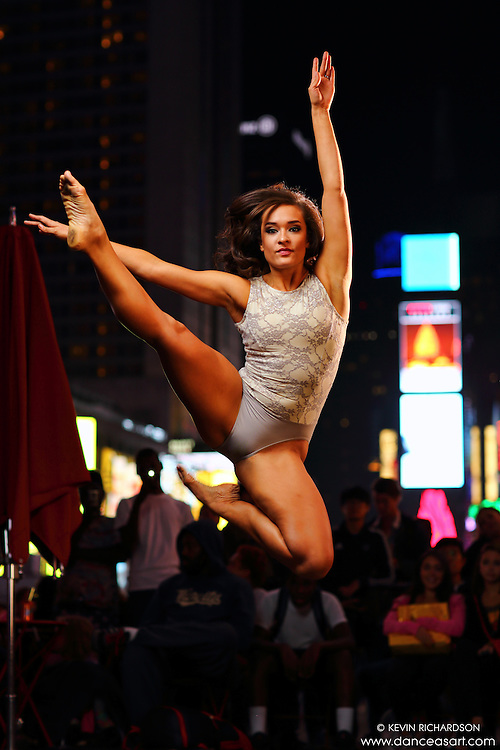 Dance As Art  New York City Photography Times Square Series with dancer, Brianna Elise Lux
