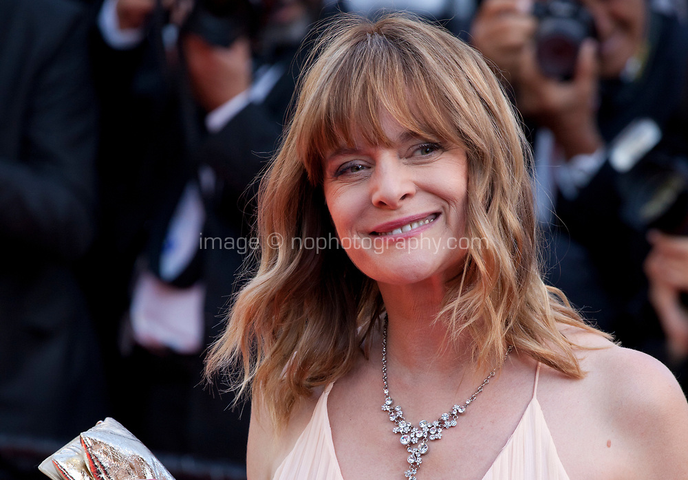 Actress Nastassja Kinski arriving to the Closing Ceremony and awards at the 70th Cannes Film Festival Sunday 28th May 2017, Cannes, France. Photo credit: Doreen Kennedy