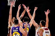 ILCE-9M2 • FE 400mm F2.8 GM OSS<br /> f/3.5 • ISO 3200 • 1/1250<br /> <br /> Mani<br /> A|X Armani Exchange Milano - Umana Reyer Venezia <br /> LBA Final Eight 2020 Zurich Connect - Semifinale<br /> Basket Serie A LBA 2019/2020<br /> Pesaro, Italia - 15 February 2020<br /> Foto Mattia Ozbot / CiamilloCastoria
