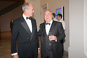 SANDY NAIRNE; MARK WEISS, Mark Weiss dinner, Nationaal Portrait Gallery. London. 15 October 2012.