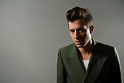 Music producer Mark Ronson poses for a photograph while promoting his new album Uptown Special in Sydney, Australia.