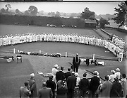 Bowling - Women's International  - Ireland, England, Scotland, Wales at Clontarf.20/06/1955