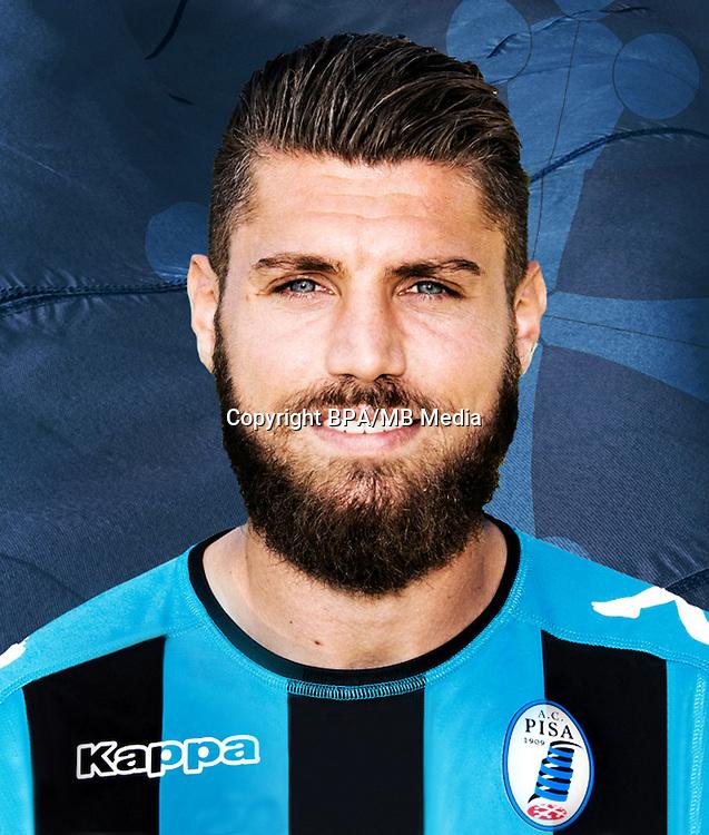 Italian League Serie B -2016-2017 / <br /> ( A.C. Pisa 1909 ) - <br /> Antonio Montella