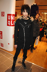 NAT WELLER son of musician Paul Weller at a party to celebrate the opening of the new Uniqlo store at 331 Oxford Street, London W1 on 6th November 2007.<br /><br />NON EXCLUSIVE - WORLD RIGHTS