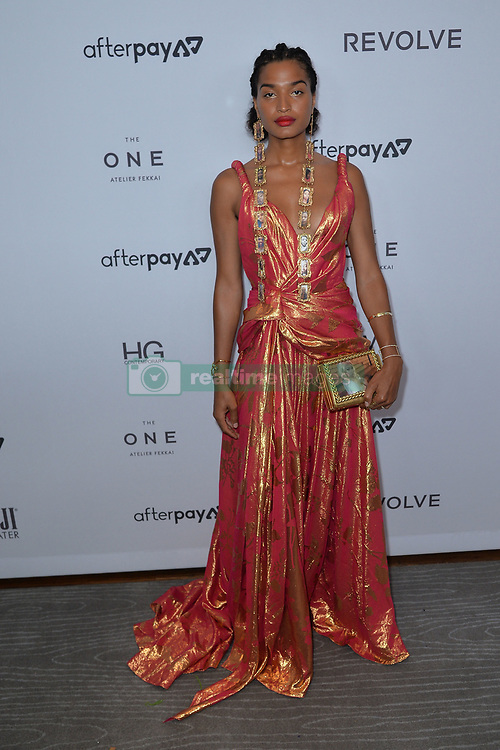 September 5, 2019, New York, NY, USA: September 5, 2019  New York City..Indya Moore attending The Daily Front Row Fashion Media Awards arrivals on September 5, 2019 in New York City. (Credit Image: © Kristin Callahan/Ace Pictures via ZUMA Press)