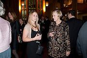 HARRIET RIMINGTON; DAME STELLA RIMINGTON, Man Booker prize 2011. Guildhall. London. 18 October 2011. <br /> <br />  , -DO NOT ARCHIVE-© Copyright Photograph by Dafydd Jones. 248 Clapham Rd. London SW9 0PZ. Tel 0207 820 0771. www.dafjones.com.