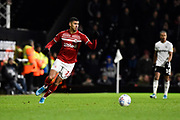 Ashley Fletcher (11) of Middlesbrough during the EFL Sky Bet Championship match between Fulham and Middlesbrough at Craven Cottage, London, England on 17 January 2020.
