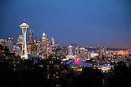 City Lights - Seattle - Washington