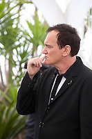 Director Quentin Tarantino at Once Upon A Time... In Holywood film photo call at the 72nd Cannes Film Festival, Wednesday 22nd May 2019, Cannes, France. Photo credit: Doreen Kennedy