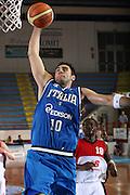 DESCRIZIONE : Porto San Giorgio Raduno Collegiale Nazionale Maschile Amichevole Italia Premier Basketball League<br /> GIOCATORE : Pietro Aradori<br /> SQUADRA : Nazionale Italia Uomini<br /> EVENTO : Raduno Collegiale Nazionale Maschile Amichevole Italia Premier Basketball League<br /> GARA : Italia Premier Basketball League<br /> DATA : 11/06/2009 <br /> CATEGORIA : schiacciata<br /> SPORT : Pallacanestro <br /> AUTORE : Agenzia Ciamillo-Castoria/C.De Massis<br /> Galleria : Fip Nazionali 2009<br /> Fotonotizia :  Porto San Giorgio Raduno Collegiale Nazionale Maschile Amichevole Italia Premier Basketball League<br /> Predefinita :