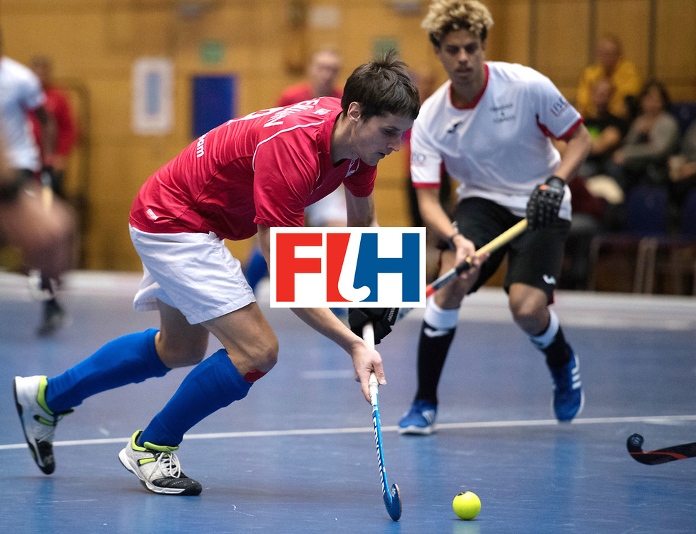 BERLIN - Indoor Hockey World Cup<br /> Czech Republic - Trinidad &amp; Tobago<br /> foto: SEEMAN Martin<br /> WORLDSPORTPICS COPYRIGHT FRANK UIJLENBROEK
