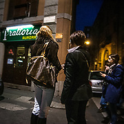 FuoriSalone2010 Zona Tortona: vita notturna nelle vie di Milano<br /> <br /> Nightlife during the International furniture show collateral events around the streets in Milan
