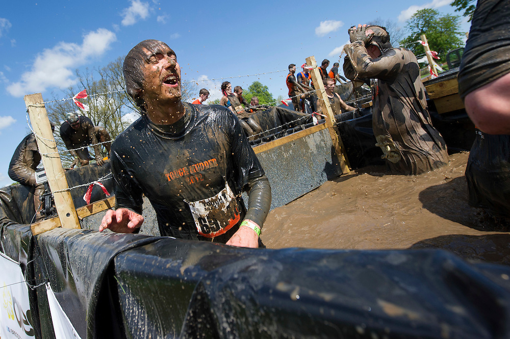 Tough Mudder - May 2012 - Northamptonshire - Ice Pool