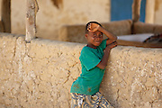 Boy in the village of Popoko, Bas-Sassandra region, Cote d'Ivoire on Tuesday March 6, 2012.