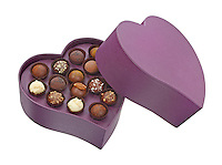 vosges chocolates heart box