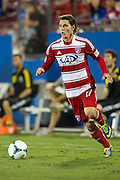 FRISCO, TX - SEPTEMBER 29:  Zach Loyd #17 of FC Dallas breaks free against the Columbus Crew on September 29, 2013 at Toyota Stadium in Frisco, Texas.  (Photo by Cooper Neill/Getty Images) *** Local Caption *** Zach Loyd