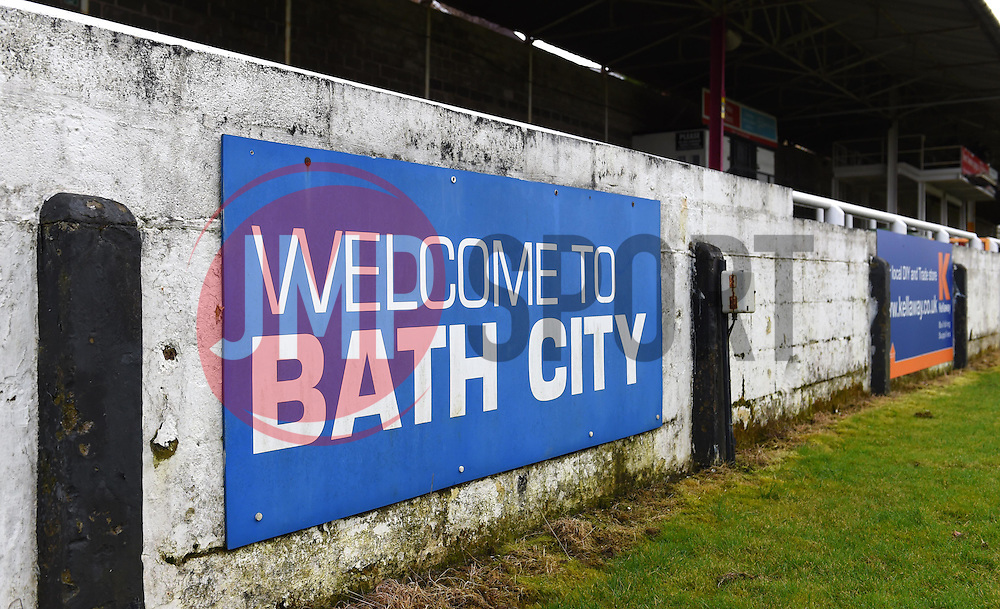Twerton Park - Mandatory by-line: Paul Knight/JMP - 16/02/2017 - FOOTBALL - Twerton Park - Bath, England - Bristol City U23 v Southampton U23 - Premier League 2 Cup