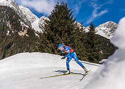 22.02.2020, Suedtirol Arena, Antholz, ITA, IBU Weltmeisterschaften Biathlon, Damen, 4 x 6 km Staffel, im Bild Federica Sanfilippo (ITA) // Federica Sanfilippo of Italy during women's 4 x 6 km Relay of IBU Biathlon World Championships 2020 at the Suedtirol Arena in Antholz, Italy on 2020/02/22. EXPA Pictures © 2020, PhotoCredit: EXPA/ Stefan Adelsberger