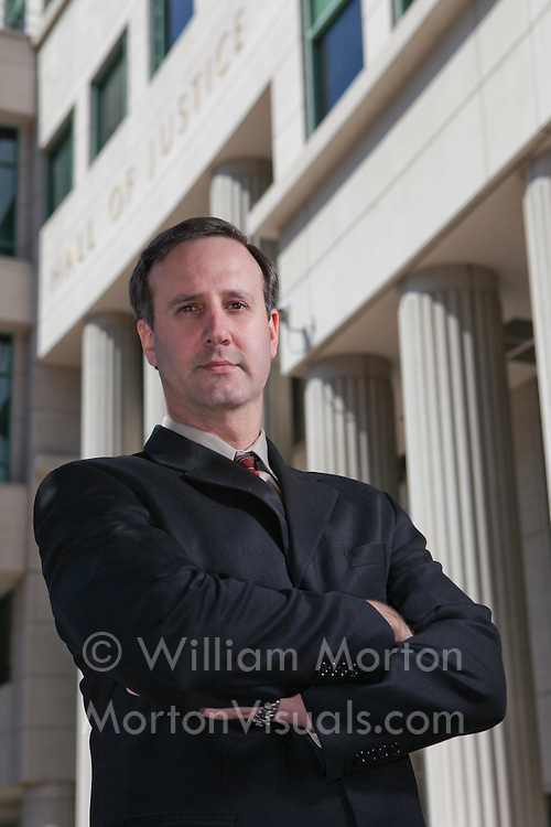 Location portrait of attorney Jim Miller Jr. Executive photography by Dallas corporate photographer William Morton of Morton Visuals.