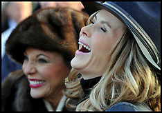NOV 30 2013 Amanda Holden at Hennessy Gold Cup
