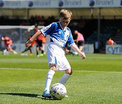 Mascot - Mandatory byline: Neil Brookman/JMP - 07966386802 - 08/08/2015 - FOOTBALL - Memorial Stadium -Bristol,England - Bristol Rovers v Northampton Town - Sky Bet League Two