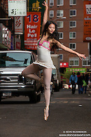 Chinatown Ballerina- Dance Art Art The New York City Photography Project Series with Xiaoxiao Cao