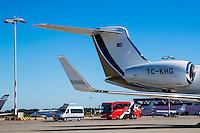 NOVI SAD - 17-08-2016, Vojvodina - AZ, Karadjordje Stadion, vertrek en aankomst, bus, vliegtuig