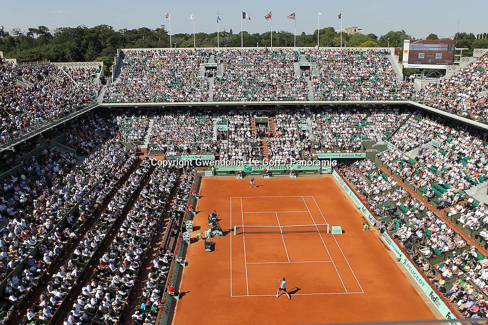 Tennis : Roland Garros - 1/4 Finales Hommes - 01.05.2011 - Rafael Nadal (ESP) contre Robin Soderling (SUE)