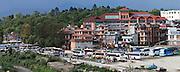 Kathmandu Nepal 2011. Tilganga Institute of Ophthalmology on the banks of the Bagmati river Kathmandu. © Michael Amendolia