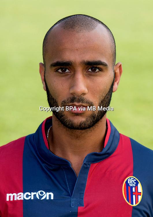 Italian League Serie B -2014-2015 / <br /> ( Bologna Fc ) -<br /> Abdallah Yaisien