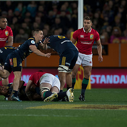 Kayne Hammington, during game 4 of the British and Irish Lions 2017 Tour of New Zealand,The match between  Highlanders and British and Irish Lions, Forsyth Barr Stadium, Dunedin, Tuesday 13th June 2017<br /> (Photo by Kevin Booth Steve Haag Sports)<br /> <br /> Images for social media must have consent from Steve Haag