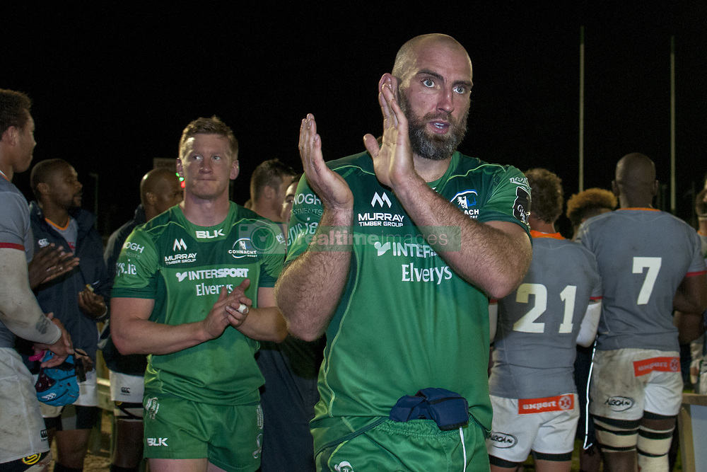 September 9, 2017 - Galway, Ireland - John Muldoon of Connacht during the Guinness PRO14 rugby match between Connacht Rugby and Southern Kings at the Sportsground in Galway, Ireland on September 9, 2017  (Credit Image: © Andrew Surma/NurPhoto via ZUMA Press)
