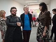LORI TEDESCO; HALUK AKAKCE; PHILIP TREACY; LAURA GOLDSTEIN, Haluk Akakce; Coming Home. Exhibition of work at the Alison Jacques Gallery. 29 April 2010. *** Local Caption *** -DO NOT ARCHIVE-© Copyright Photograph by Dafydd Jones. 248 Clapham Rd. London SW9 0PZ. Tel 0207 820 0771. www.dafjones.com.<br /> LORI TEDESCO; HALUK AKAKCE; PHILIP TREACY; LAURA GOLDSTEIN, Haluk Akakce; Coming Home. Exhibition of work at the Alison Jacques Gallery. 29 April 2010.