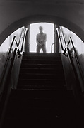 Teenager, White City estate, London, UK, 1982