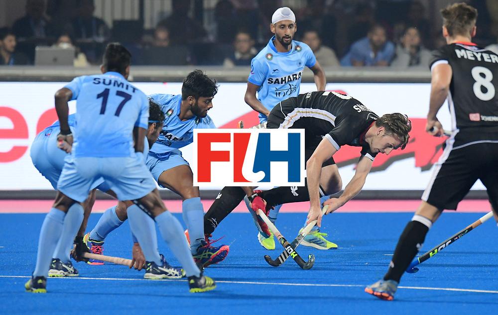 Odisha Men's Hockey World League Final Bhubaneswar 2017<br /> Match id:10<br /> India v Germany<br /> Foto: Niklas Bruns (Ger) <br /> WORLDSPORTPICS COPYRIGHT FRANK UIJLENBROEK