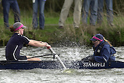 Photo. © Peter Spurrier/intersport Images.21/03/2004  - Henley Races [Women's and lightweight Races]..Oxford women's blue boat cox Megan Patrick [right] urges he crew on.[Mandatory Credit Peter Spurrier/ Intersport Images] . [Mandatory Credit: Peter Spurrier: Intersport Images].
