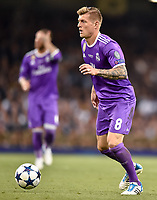 Toni Kroos of Real Madrid during the UEFA Champions League Final match between Real Madrid and Juventus at the National Stadium of Wales, Cardiff, Wales on 3 June 2017. Photo by Giuseppe Maffia.<br /> <br /> Giuseppe Maffia/UK Sports Pics Ltd/Alterphotos