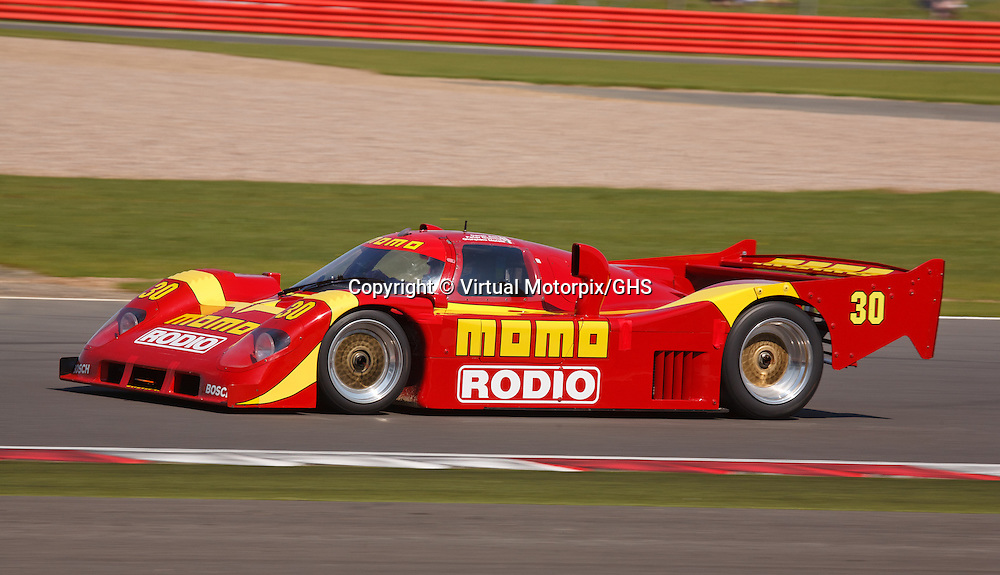 Nissan NTPi90 Group C at Silverstone Classics 21/22 July 2012
