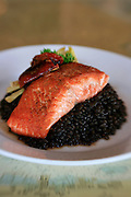 Salmon dish, Alaska
