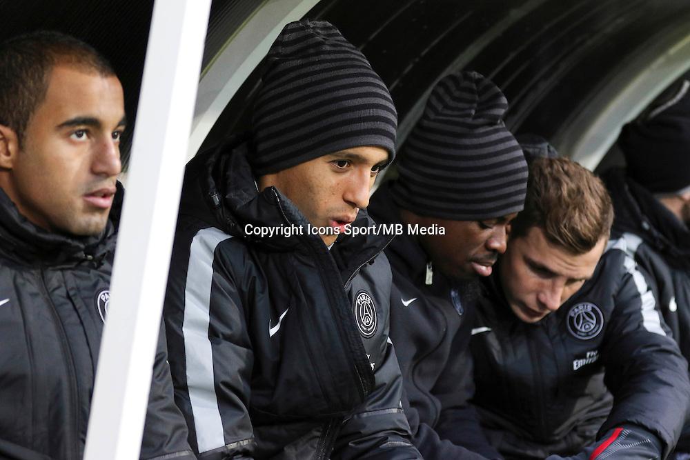 MARQUINHOS - 14.12.2014 - Guingamp / Paris Saint Germain - 18eme journee de Ligue 1<br />Photo : Vincent Michel / Icon Sport