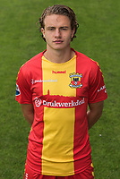 Thijs Dekker during the team presentation of Go Ahead Eagles on July 15, 2016 at the Adelaarshorst Stadium in Deventer, The Netherlands.