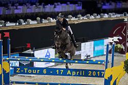 Baaring Kjaergaard Laura, DEN, Tonlyn Bobbys Girl<br /> FEI Ponies Jumping Trophy<br /> Vlaanderens Kerstjumping Memorial Eric Wauters<br /> © Dirk Caremans<br /> 27/12/2016
